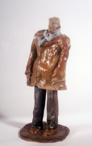 MAN IN A BROWN COAT